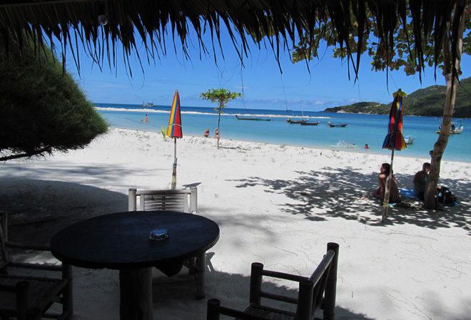 вид на пляж Малибу