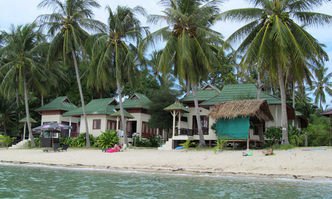 пляж возле Seetanu Bungalows