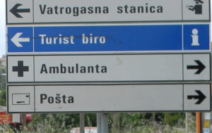 указатель больницы