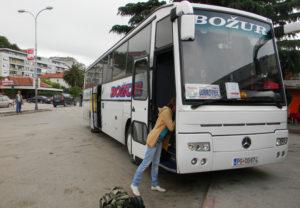 автобус в Черногории