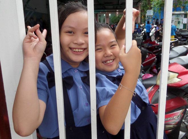 школьницы во Вьетнаме