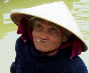 лодочник во Вьетнаме