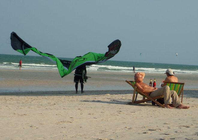центральная часть пляжа в Хуа Хине