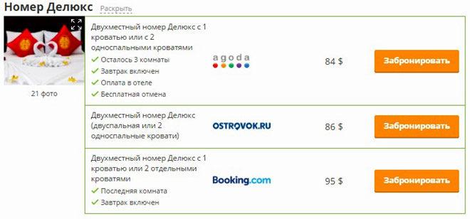 цены на отель во Вьетнаме
