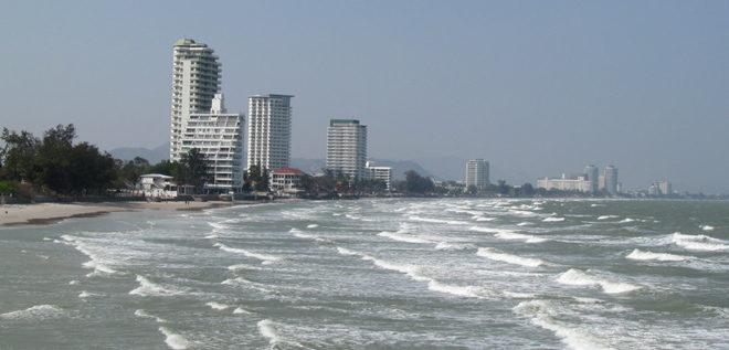 городской пляж Хуа Хина