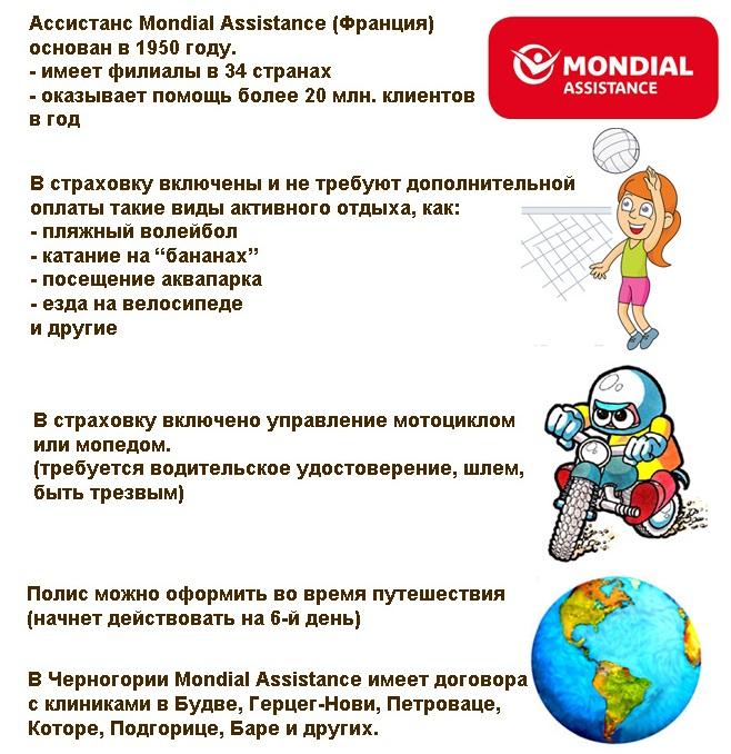 особенности страховки Tripinsurance для Черногории