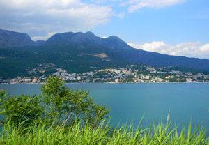 Черногория, вид на Герцег-Нови
