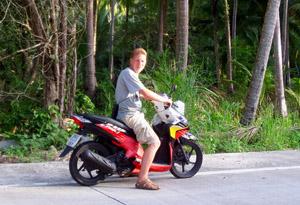страхование управления мотобайком