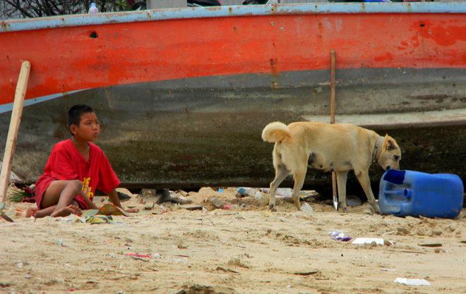 мусор в Паттайе