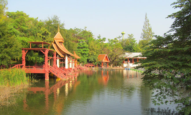 парк в окрестностях Хуа Хина