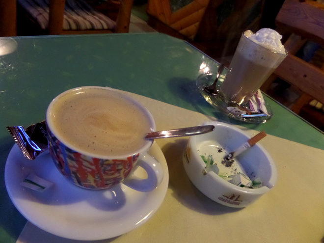 кафе в Австрии