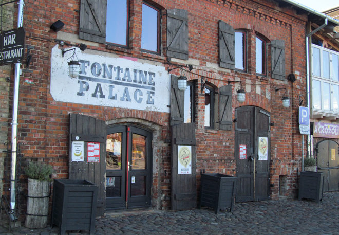Fontain Palace в Лиепае